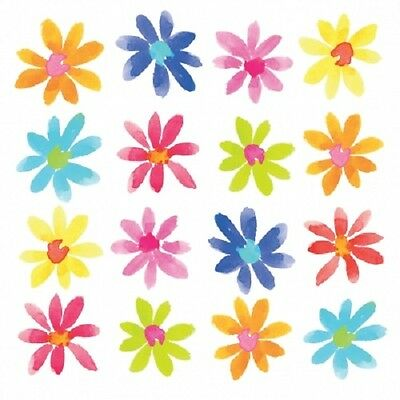 3 Paper Napkins for Decoupage / Parties / Weddings - Flowerfield