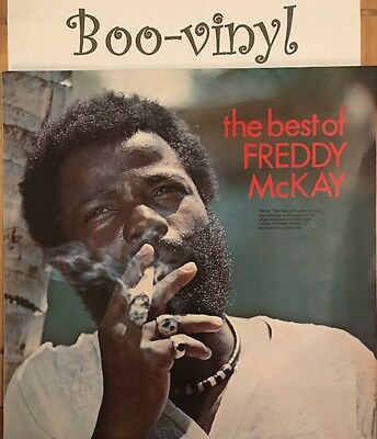 CLASSIC ROOTS Freddy McKay The Best Of HIT RECORDS EX+ Con Rare Lp