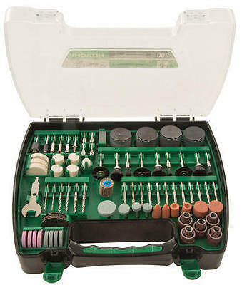 "HITACHI 200 Piece Rotary Tool Set Fits ALL 1/8"" capacity Rotary Tools NEW"
