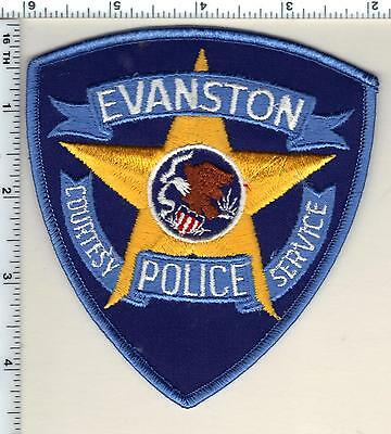 Evanston Police (Illinois)  Shoulder Patch - new from 1985