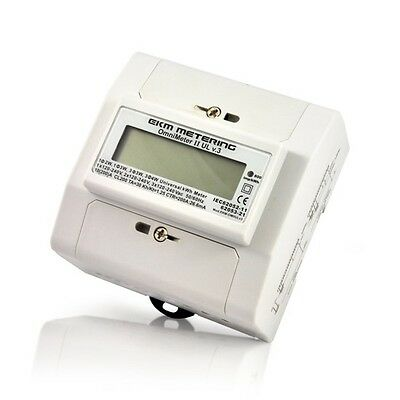 UL Listed 3 Phase Smart Meter Read With Your Computer w USB or Over Internet #25