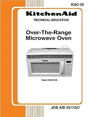 Repair Manual: KitchenAid Microwave Oven (Your choice of 1 manual, models below)