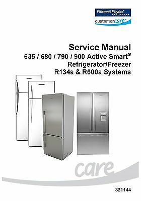 Repair Manual: Fisher & Paykel/DCS/Elba Refrigerators (choice of 1 manual)