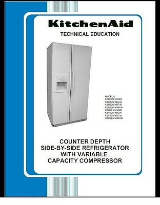 Repair Manual: Kitchenaid REFRIGERATORS (choice of 1)