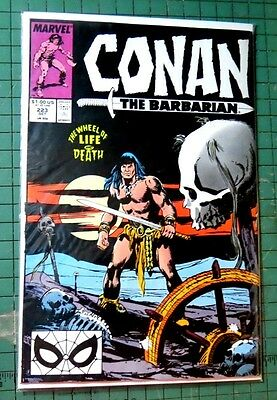 Conan The Barbarian #223 Marvel Comics Copper age Comic CB755