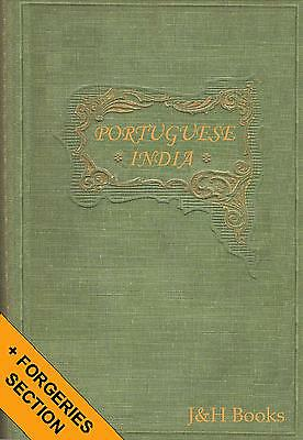 PORTUGUESE INDIA STAMPS History Varieties Forgeries 92pp - CD