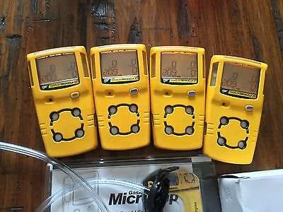 BW Gas Alert MicroClip XT Multi gas Monitor Detector Meter H2S,LEL,CO,O2 New OXY