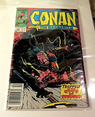 Conan The Barbarian #217 Marvel Copper Age CB2021