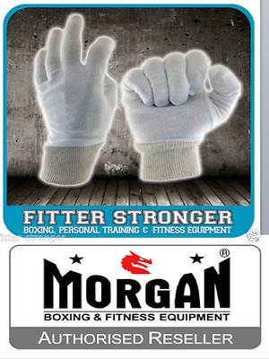 24x PAIRS COTTON INNERS LINERS BOXING GLOVES SWEAT PROTECTORS BULK BUY UNISEX
