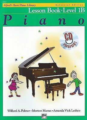 ALFRED'S BASIC PIANO LIBRARY - LESSON BOOK - Level 1B with CD