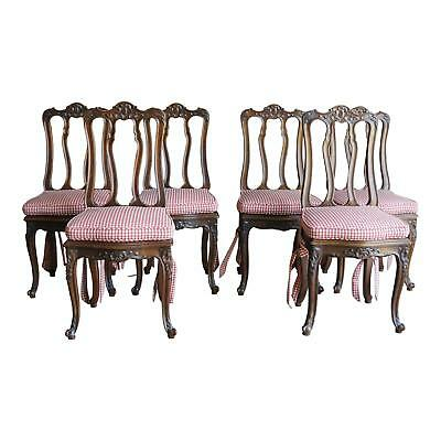 Dining Chairs / Splatback Dining Chairs / Antique French Dining Chairs