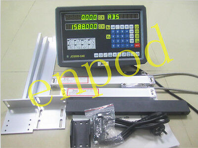 2 Axis DRO digital readout for milling lathe machine with linear scale 950 400