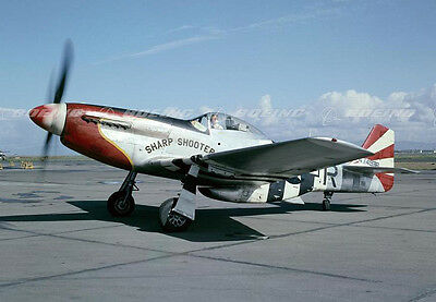"Model Airplane Plans (UC): Mustang P-51D ""Sharp Shooter"" Scale 47"" for .25-.35"