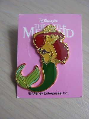 Disney Daiwa Little Mermaid Ariel with Flower Pin from Japan on card 1990's Rare