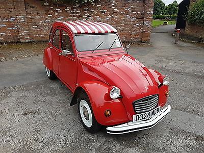 1985 Citroen 2cv Special Red White 2cv6 classic (2 owners)