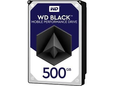 WD Black 500GB Performance Laptop Hard Disk Drive - 7200 RPM SATA 6 Gb/s 32MB Ca