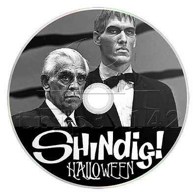 Shindig! Halloween Special with Boris Karloff, Ted Cassidy + Many More on DVD
