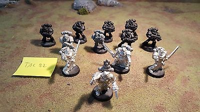 Warhammer 40k Space Marines Tactical Squad X12 unpainted