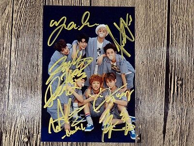 NCT Dream  Autographed signed  Group Photo New Korea freeshipping 102016 03