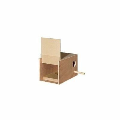Nest Box Budgie - Single - Bird Accessories Cage Fittings