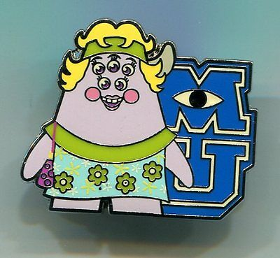 Disney pin Monsters University Mystery Collection Squishy's Mom Artist Proof AP