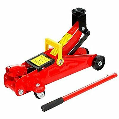New 2 Ton Hydraulic Trolley Floor Jack Car Jack 2000kgs CE Approved With Case