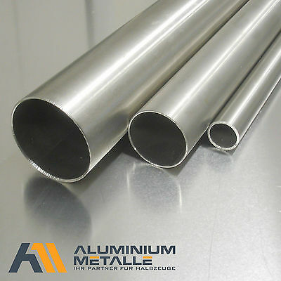 Stainless Steel Tube VA V2A Length Selectable Construction Pipe 1.4301 Ground