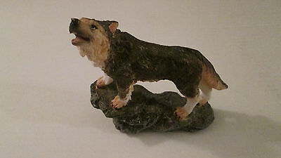Wolf Howling Resin or Ceramic Figurine