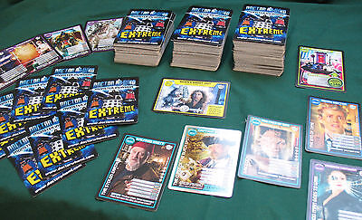 335 (approx) Doctor Who Monster Invasion 'Extreme' cards, VGC.