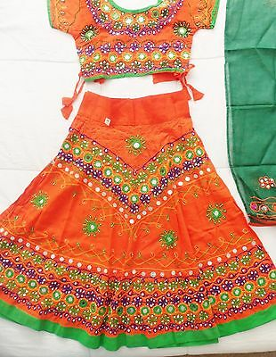 Indian Bollywood kurta lahenga set Designer Girls Ethnic Dress Top Pakistani New