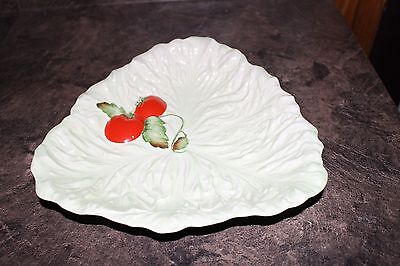 Carlton Ware Cabbage Leaf and Tomato Plate Australian Design Made in England
