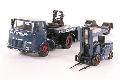 Base Toys DA27 Leyland Mastiff Low Loader with Forklift Pickford 1:76 OO suit HO