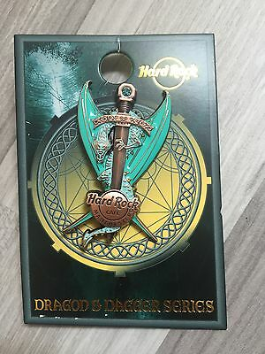 Hard Rock Cafe Manchester 2017 Dragon & Dagger Series Pin
