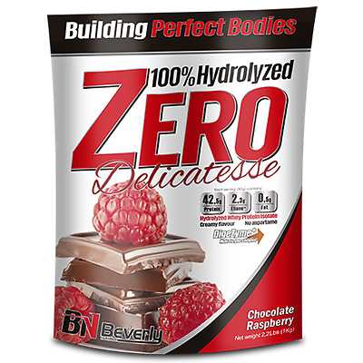 Beverly Nutrition - Hydrolized Zero Delicatesse, 1000 G, Chocolate Frambuesa