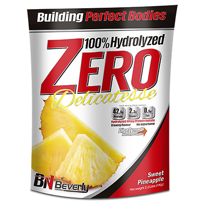 Beverly Nutrition - Hydrolized Zero Delicatesse, 1000 G, Piña Dulce