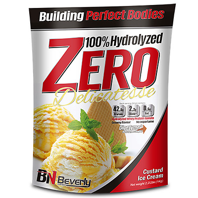 Beverly Nutrition - Hydrolized Zero Delicatesse, 1000 G, Natillas