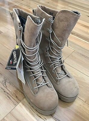 Belleville 790 Desert Tan Waterproof Flight Boot Size 8R Us/ 7 Uk