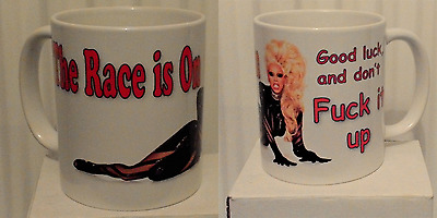 RuPaul's Drag Race Inspired Ceramic Mug Funny Unofficial Queen Glamazon Shady