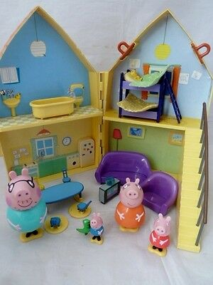 Peppa Pig House With All Figures And Accessories