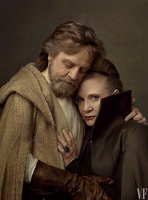 Star Wars The Last Jedi Poster Vanity Fair Textless Hamill Ridley Driver