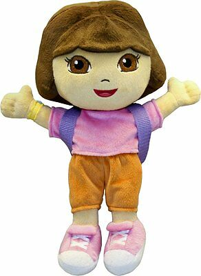 "Dora The Explorer Plush Toys with Backpack 12"" Nickelodeon Kids Girls Soft Doll"