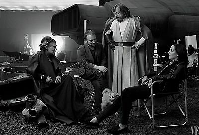 Star Wars The Last Jedi Poster Vanity Fair Textless Hamill Ridley Fisher Driver