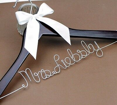 personalized wedding shower gift wedding hanger bride bridal dress hanger font b