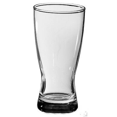48 x 285ml Keller Beer Glass Commercial Grade Weight & Measures Approved