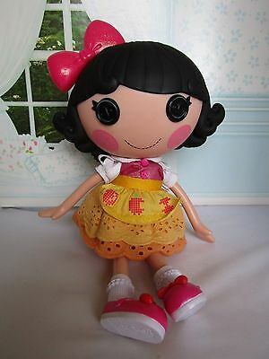 """Lalaloopsy Snowy Fairest Doll Full Size 12"""" - Nice Condition"""