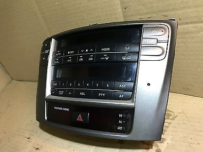 2005 - 2013 Lexus Is220 Is250 Head Unit / Climate Heater Ac Control Display