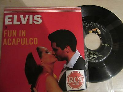 45rpm.  ELVIS PRESLEY:   FUN IN ACAPULCO  Philippines 7""