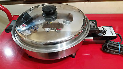 Rare 1962 Saladmaster 7815E 1150 Watt Electric Skillet Completely Restored