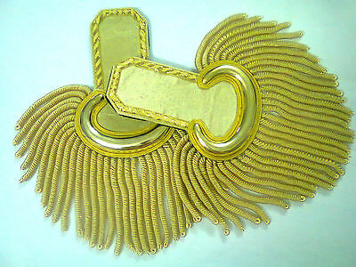 smart  Epaulettes Gold Wire For Officers