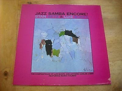Stan Getz, Luiz Bonfa - Jazz Samba Encore- Verve 2317 008 Uk Pressing